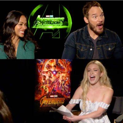 Chris Pratt's Fart & More 'Avengers: Infinity War' Interview Outtakes