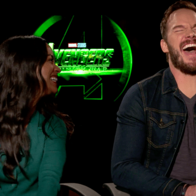 Chris Pratt's Fart & More 'Avengers: Infinity War' Interview Outtakes